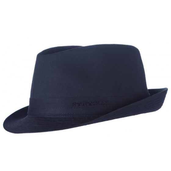 Teton fabric hat navy Stetson