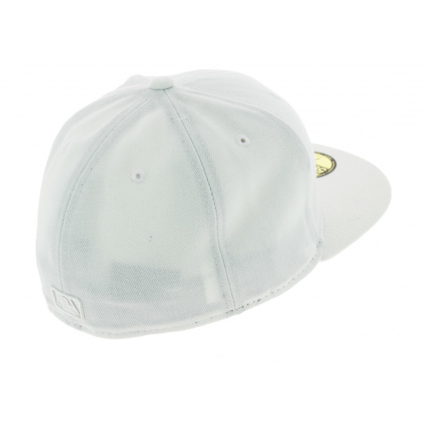Casquette Fitted Basics 59 Fifty Yankees NY Blanc - New Era