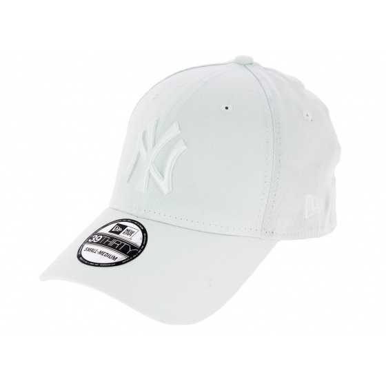 Casquette Fitted Essential MLB Coton Blanc - New Era