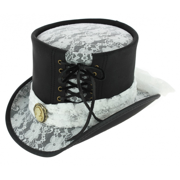 Chapeau Demi Haut de Forme Amarys