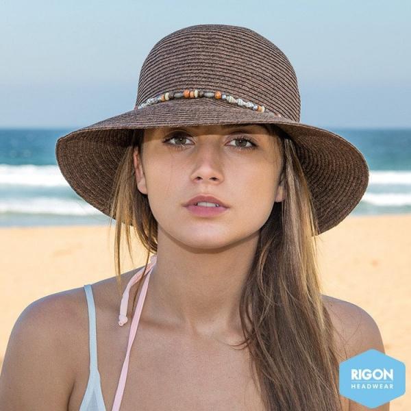 Chapeau Cloche Indie Fibres Naturelles - Rigon Headwear