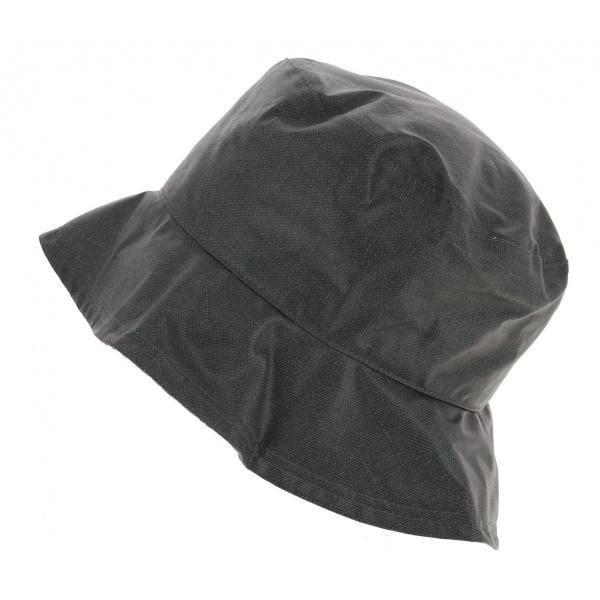Chapeau Bob de Pluie Telia Coton Anthracite - Mtm