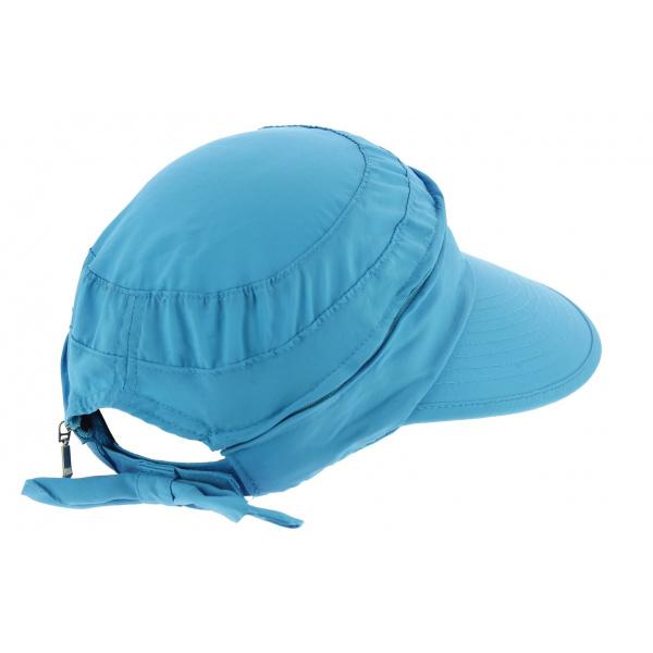 Casquette Visière Anti UV & Imperméable Butterfly Turquoise - Aussie Apparel