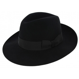 Borsalino Vanzina Black felt hat