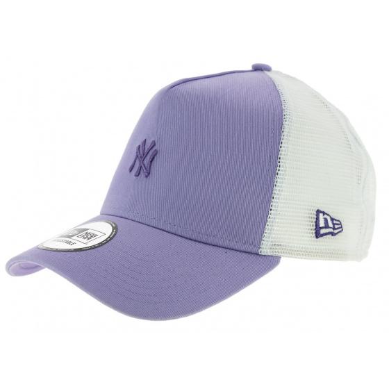 Trucker Pastel Snapback Cap NY Yankees Violet - New Era