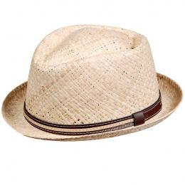 Natural Carpino Raphia Hat
