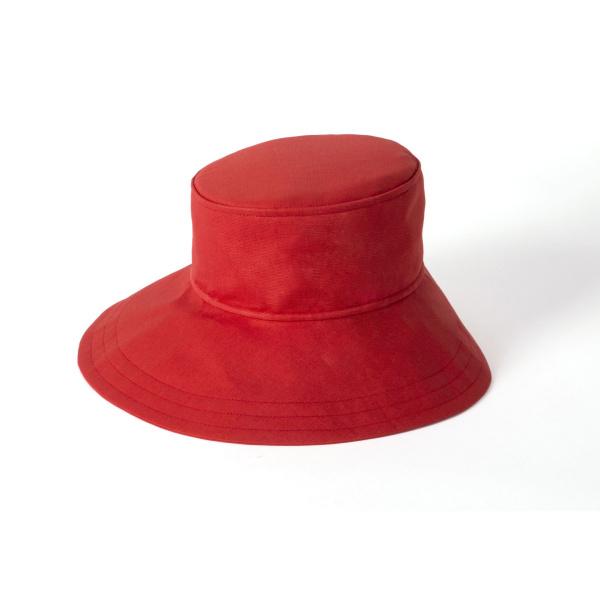 bd8dd4f26 The woman's asymmetrical floppy hat