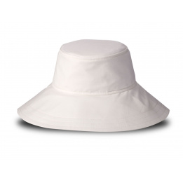 The natural woman's asymmetrical floppy hat