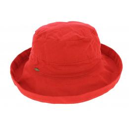 Chapeau de soleil Lanikai rouge