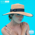 Capeline Margery Braided Naturel- Rigon Headwear