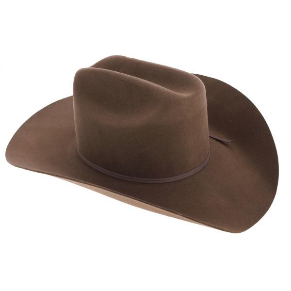 meilleurs prix chaussures de sport choisir le dernier Chapeau Cowboy Cattleman Feutre Laine - Stetson