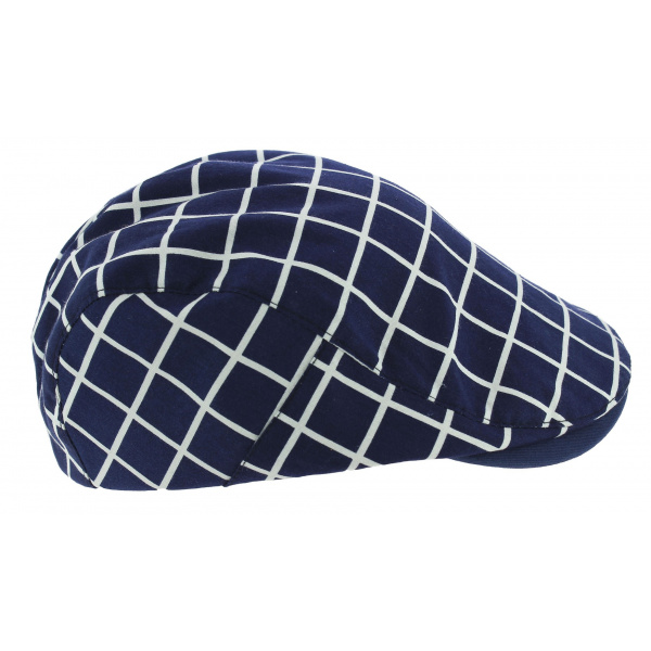 Adjustable Cap Monza Blue Cotton - Aussie Apparel