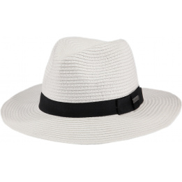 Chapeau Fedora Aveloz  Blanc- Bartz