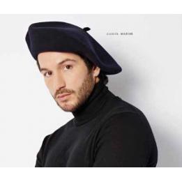 Authentique beret chasseur alpin laulhere noir