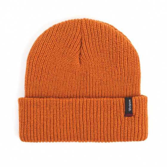 Bonnet tricot Heist Orange- Brixton