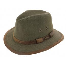 Chapeau Traveller Salford Coton Olive - Hatland