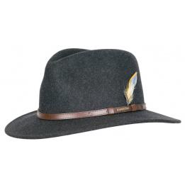 Chapeau traveller vitafelt Newberg Noir - Stetson