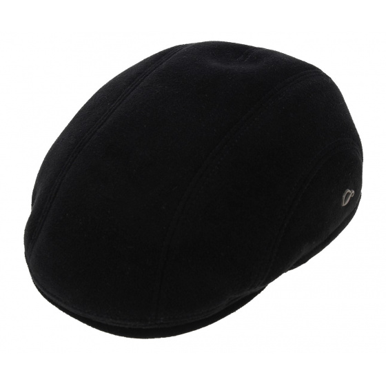 Meije Bombed Cap Earmuffs Black - Göttmann