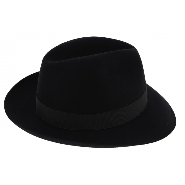 ... Borsalino hat men black ... 836df2346ea