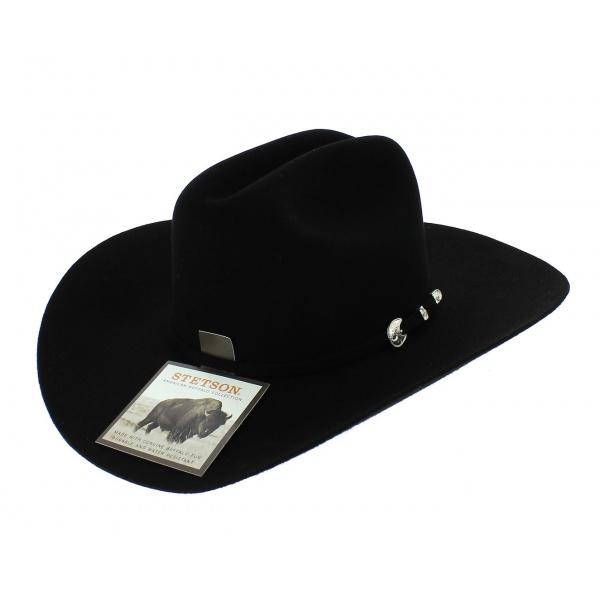 profiter de prix discount style attrayant coupon de réduction Chapeau Cowboy Cattleman Feutre Laine & Poil - Stetson