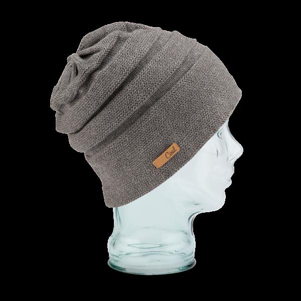 Bonnet Oversize The Cameron Laine & Coton Gris - Coal