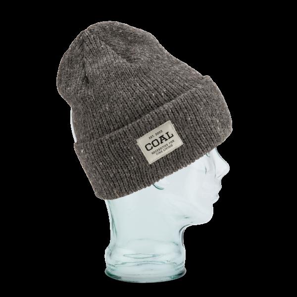 Bonnet Revers The Uniform Gris Laine - Coal