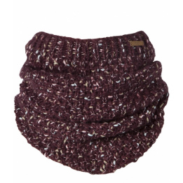 Snood Echarpe kalli col burgundy