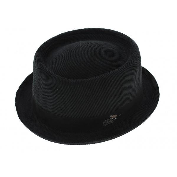 Chapeau PorkPie Jamsa Velours Noir - Aussie Apparel