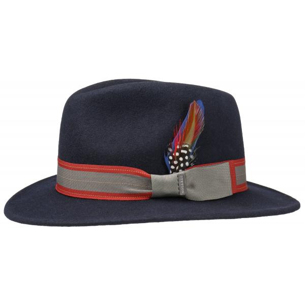 Traveller Hat Tombstone Felt Marine Wool - Stetson