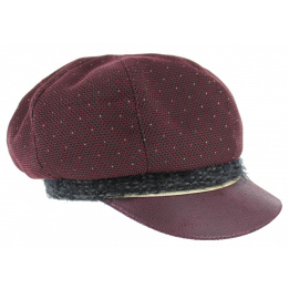 Casquette Gavroche Loreena Violet Laine - traclet