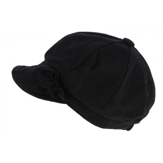 Black  gavroche cap liberty