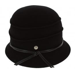 Hat Cloche Black