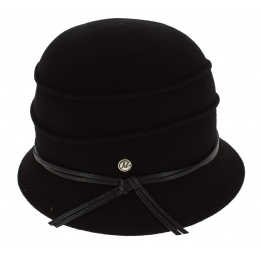 Hat Cloche Black