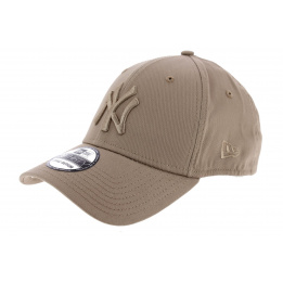 Casquette Fitted Essential NY Coton Beige- New Era