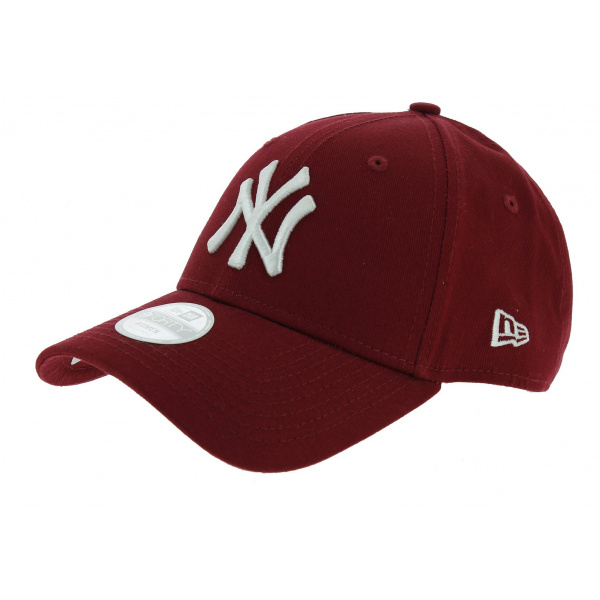 Casquette Baseball Essential 940 NY Bordeaux - New Era