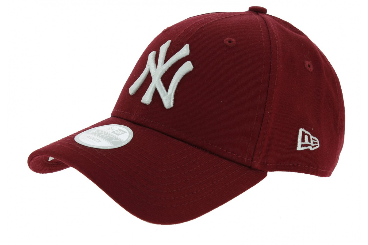 1f9e91472089 Casquette Baseball Essential 940 NY Bordeaux - NEw Era - Chapeau Traclet