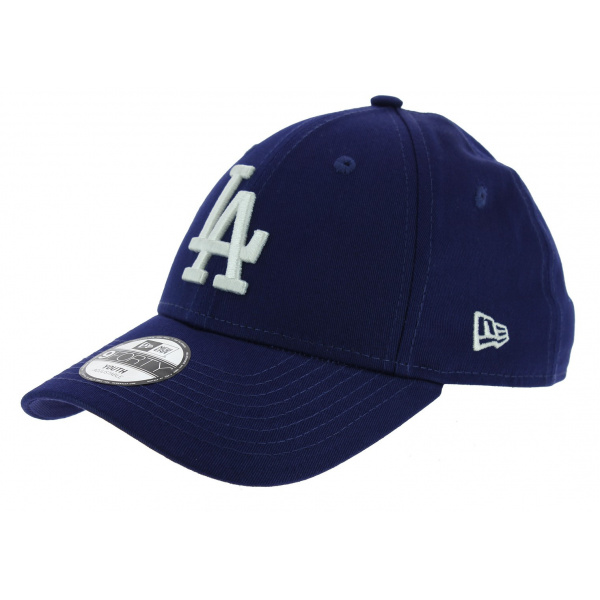 Casquette Strapback Enfant Essential 9Forty Bleu- New Era