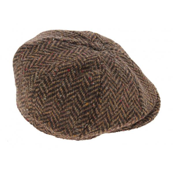 Casquette Plate Londonderry Laine Chevrons - Hanna Hats
