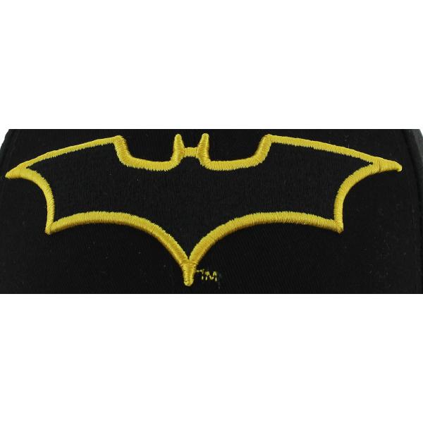 Strapback Batman Black Cotton Cap - New Era