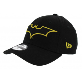 Strapback Batman Black Cotton Cap - New Era