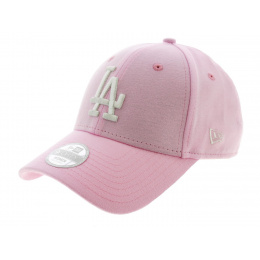 Pink Cotton Jersey Strapback Cap - New Era