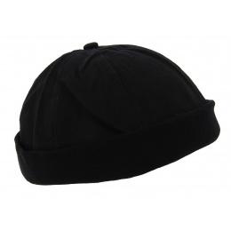 Bonnet Docker Drac Coton Noir - Traclet