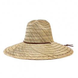 Chapeau Traveller Bells Larges Bords Bells Paille Naturel - Brixton