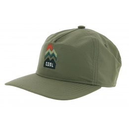 Casquette Snapback The Donner Olive - Coal
