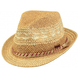 Chapeau Trilby Raffia Parsley Naturel - Barts