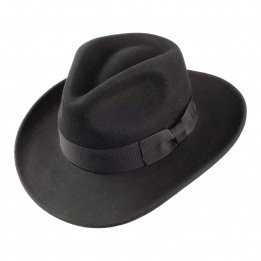 Chapeau traveller noir Ford Indiana Jones Jaxon