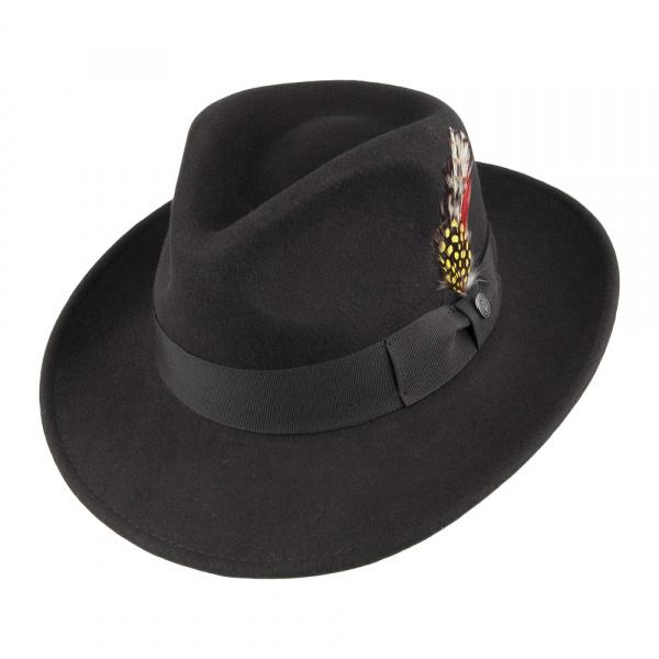 Chapeau traveller noir Ford Indiana Jones Jaxon
