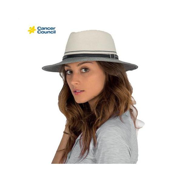 Chapeau Traveller Héritage Bicolore Blanc / Noir - Rigon Headwear