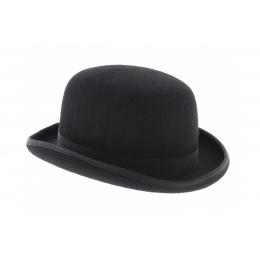 Chapeau melon feutre laine noir - Guerra
