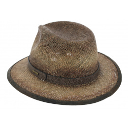 Traveller Rodeo Seagrass Brown Straw Hat - Stetson